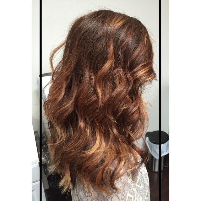 Copper Brown Balayage With Images Balayage Hair Copper