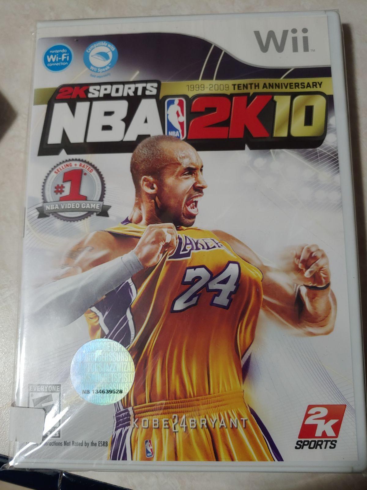 Wii NBA 2K 10 featuring Kobe Bryant