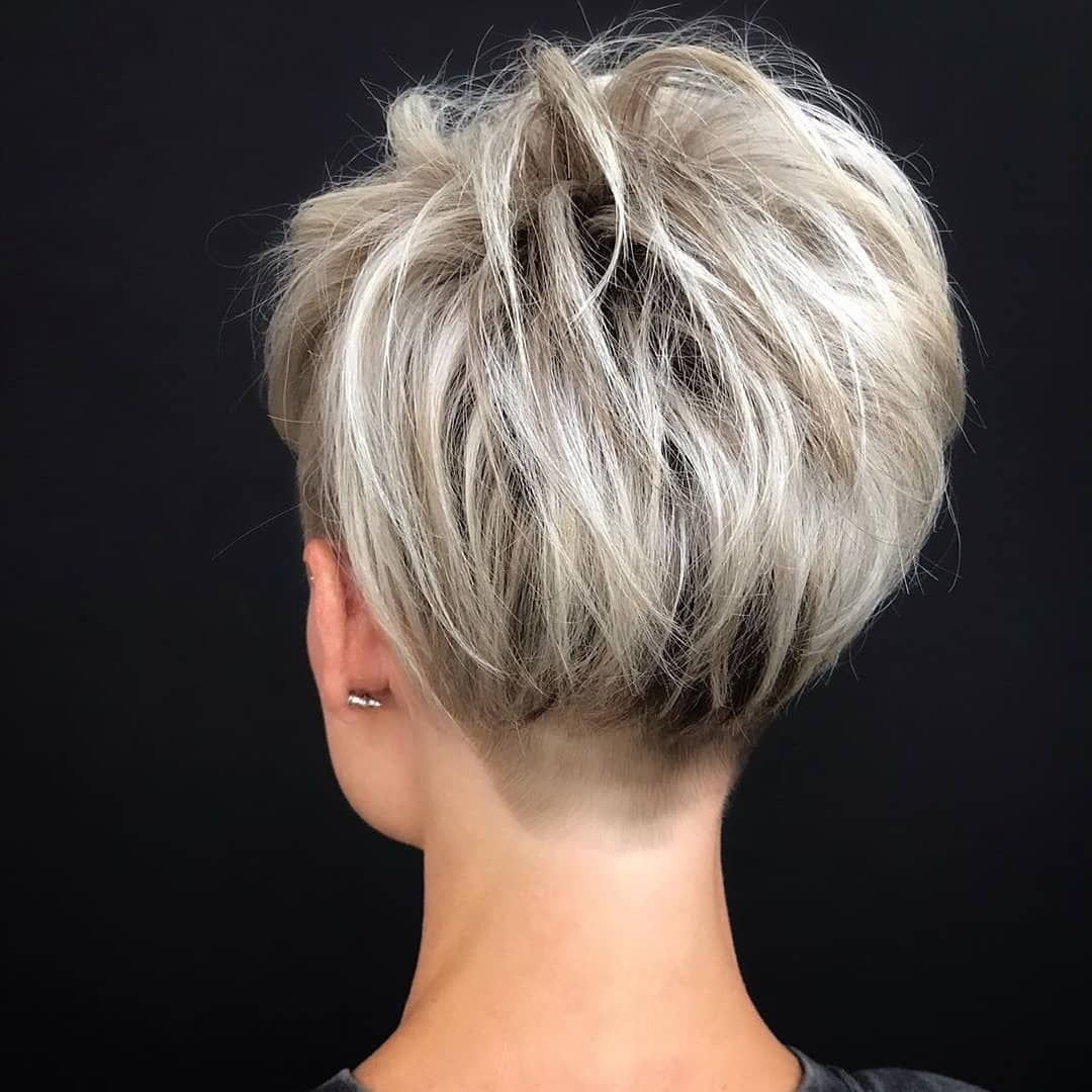 10 Stylish Pixie Haircuts For Women New Short Pixie Hairstyle 2020 2021 In 2020 Short Textured Hair Short Hair With Layers Thick Hair Styles
