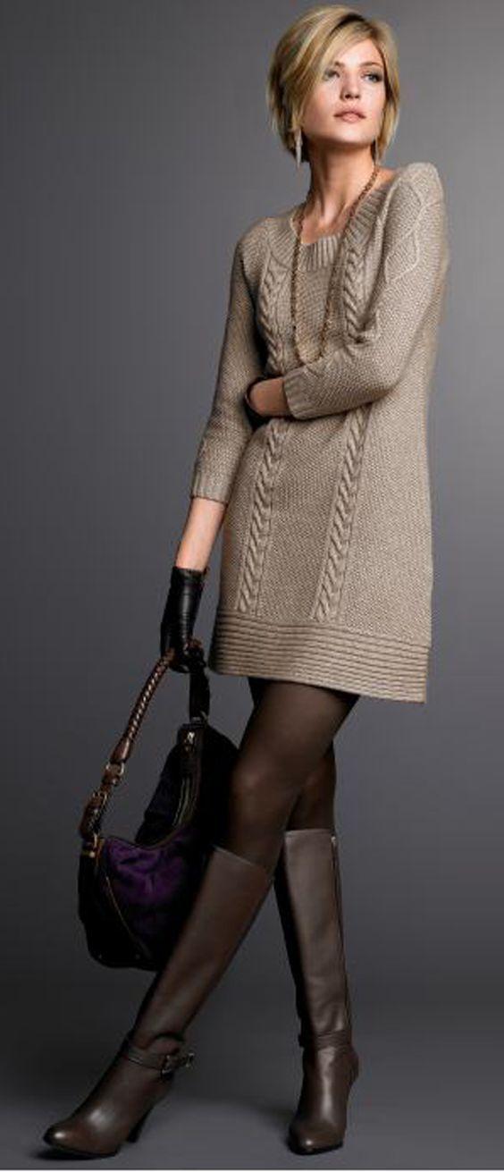 Abiti In Maglia: Caldi E Avvolgenti - Il Fashiontrends - Knit Dress