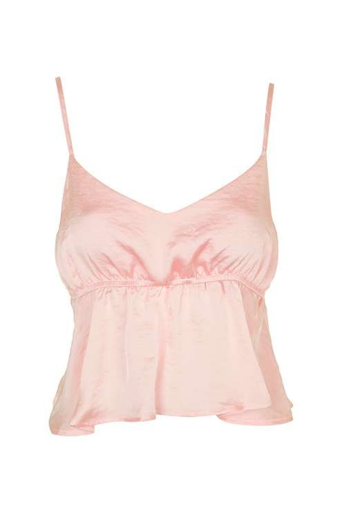 Satin Strappy Crop by Band Of Gypsies