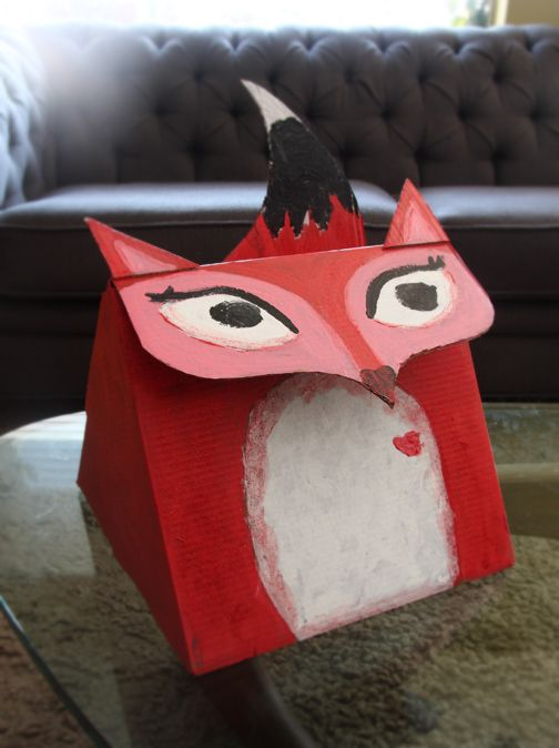 12 creative valentine card boxes - How To Make Valentine Boxes