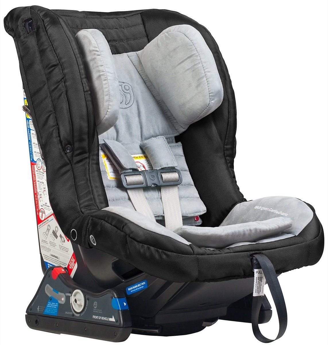 Orbit Toddler Car Seat G2 Black