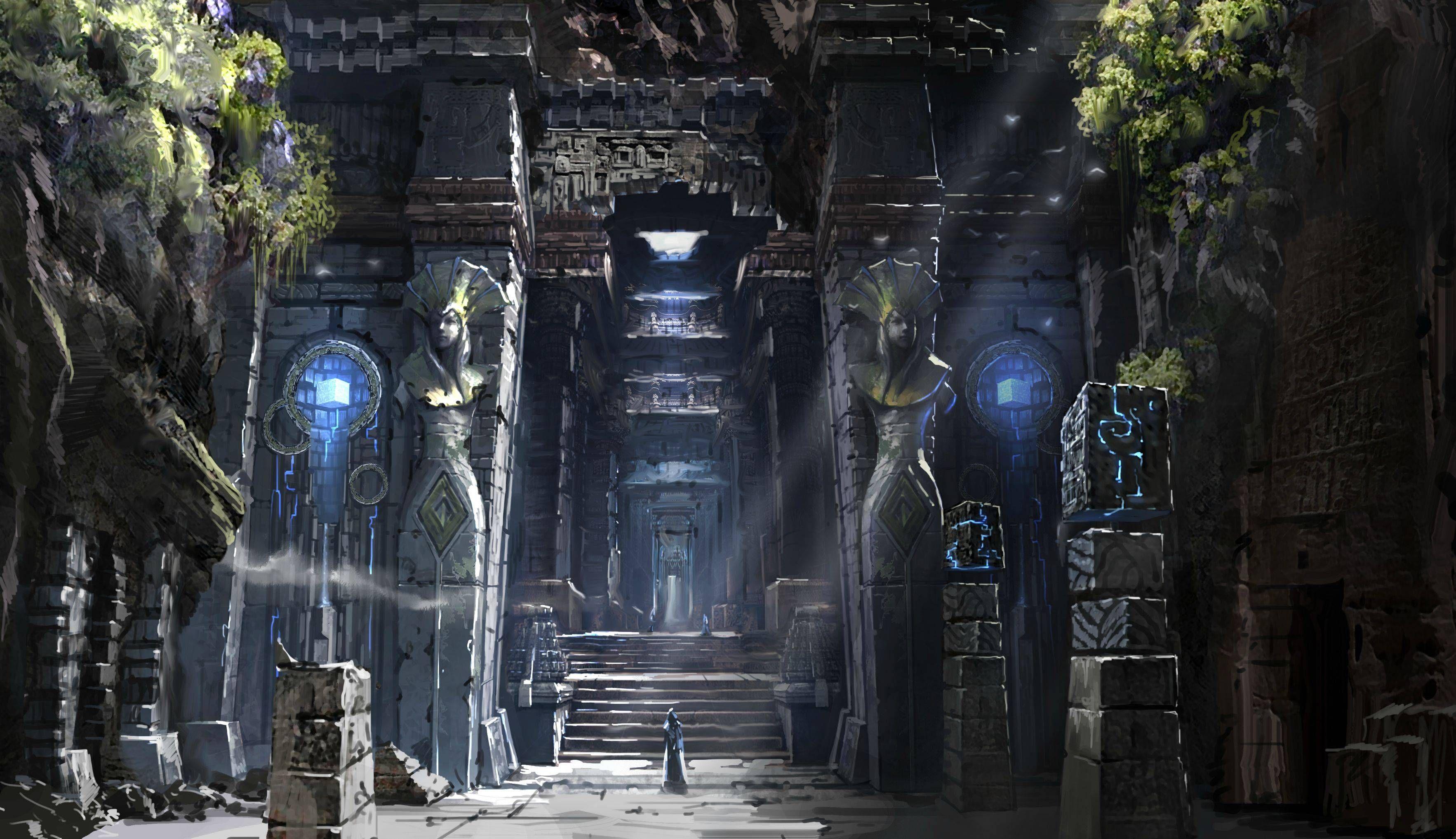 Aion Concept Art - Artist unknown Temple Illustration ...