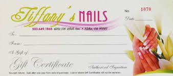 Image Result For Salon Gift Voucher Template Nail Salons