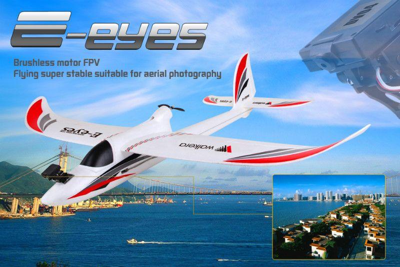 Walkera E Eyes 7ch Fpv Airplane With Devo F7 Hd Camerawalkerawk E