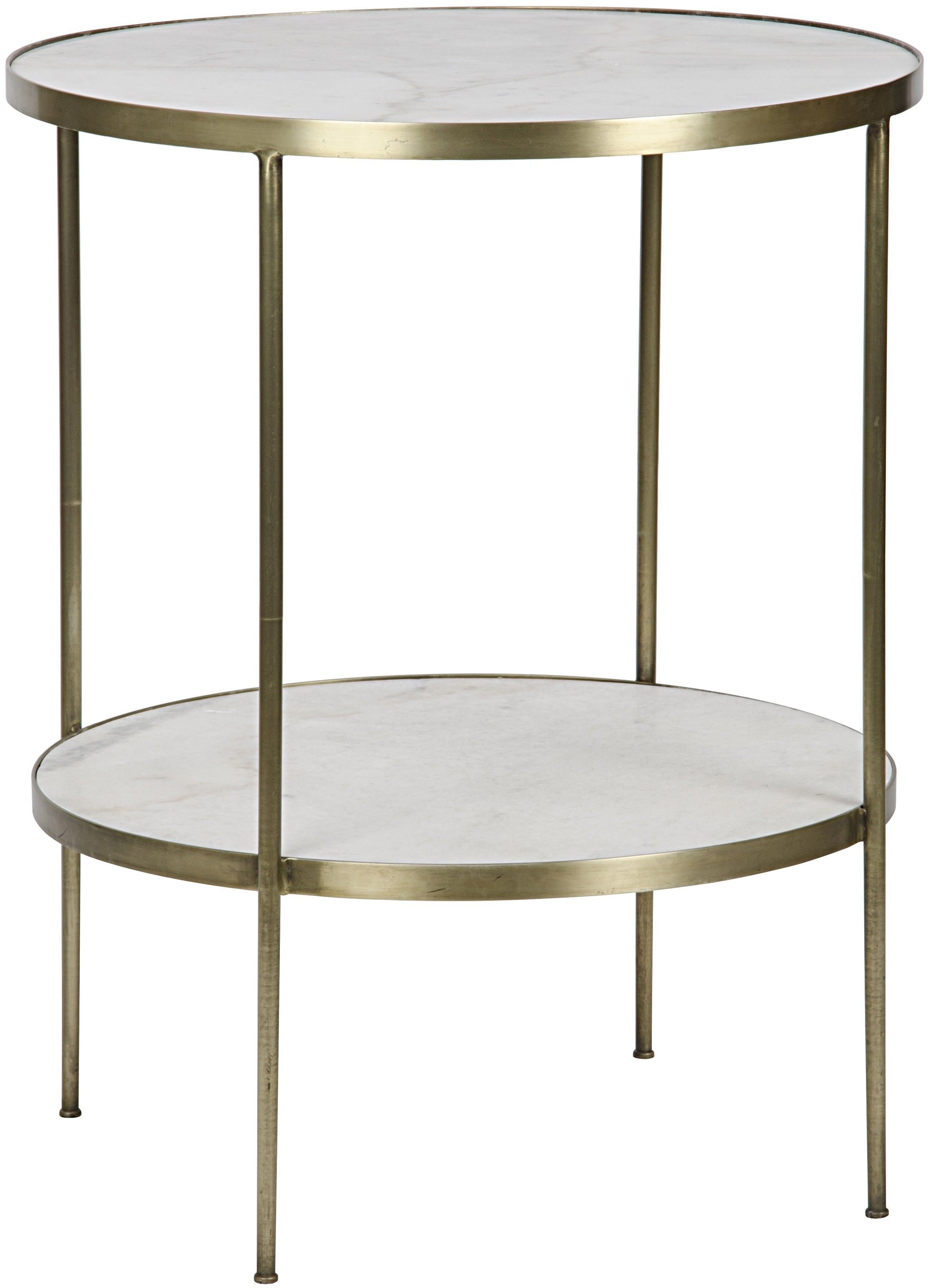 Eyal Side Table   White stone, Modern and House