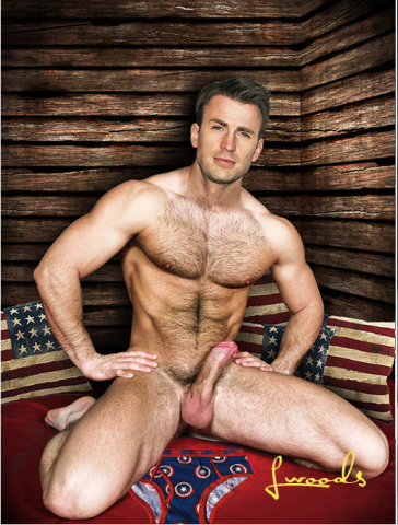 Chris evans naked gay
