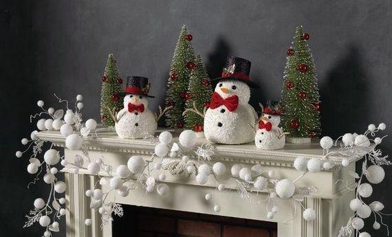 2014 RAZ Christmas Decorating Ideas - family holiday.net/guide to family holidays on the internet & 2014 RAZ Christmas Decorating Ideas   Mantels Snowman and Holidays