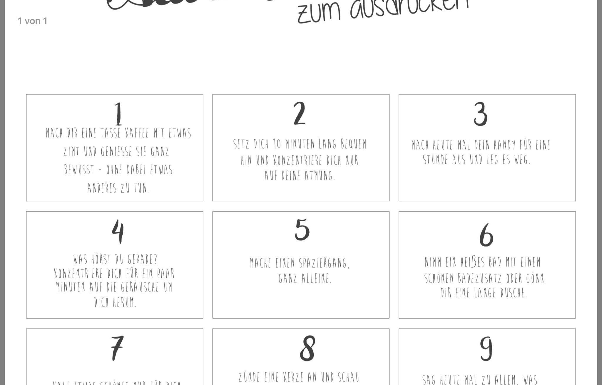 Achtsamkeitskalender   Adventkalender, Weihnachtssachen, Adventsdeko