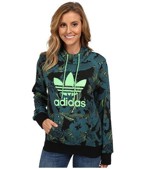 6c16413b5de87 adidas Originals Trefoil Logo Hoodie   Kleren   Pinterest   Vestes