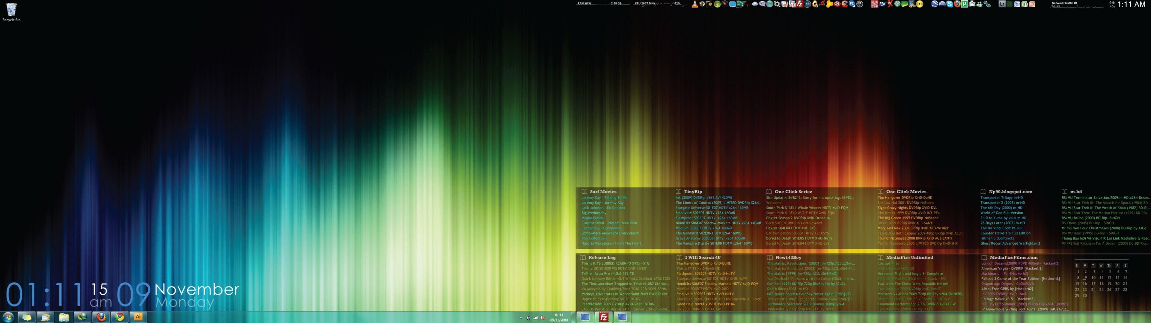 Fresh Dual Monitor Wallpaper Windows 7