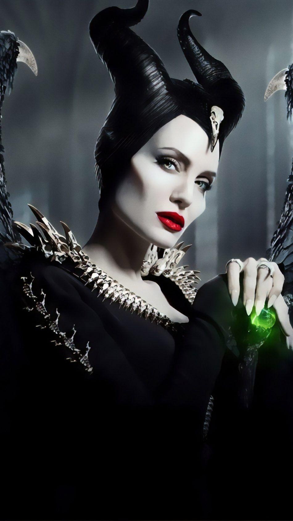 Angelina Jolie In Maleficent Mistress Of Evil 4k Ultra Hd Mobile Wallpaper Watch Maleficent Maleficent Disney Maleficent