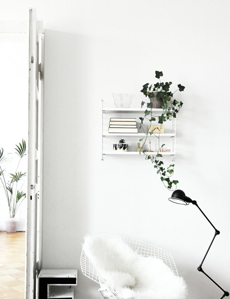 Decordots Industrial And Raw With Lots Of Repurposed Things: White With Black Detail.