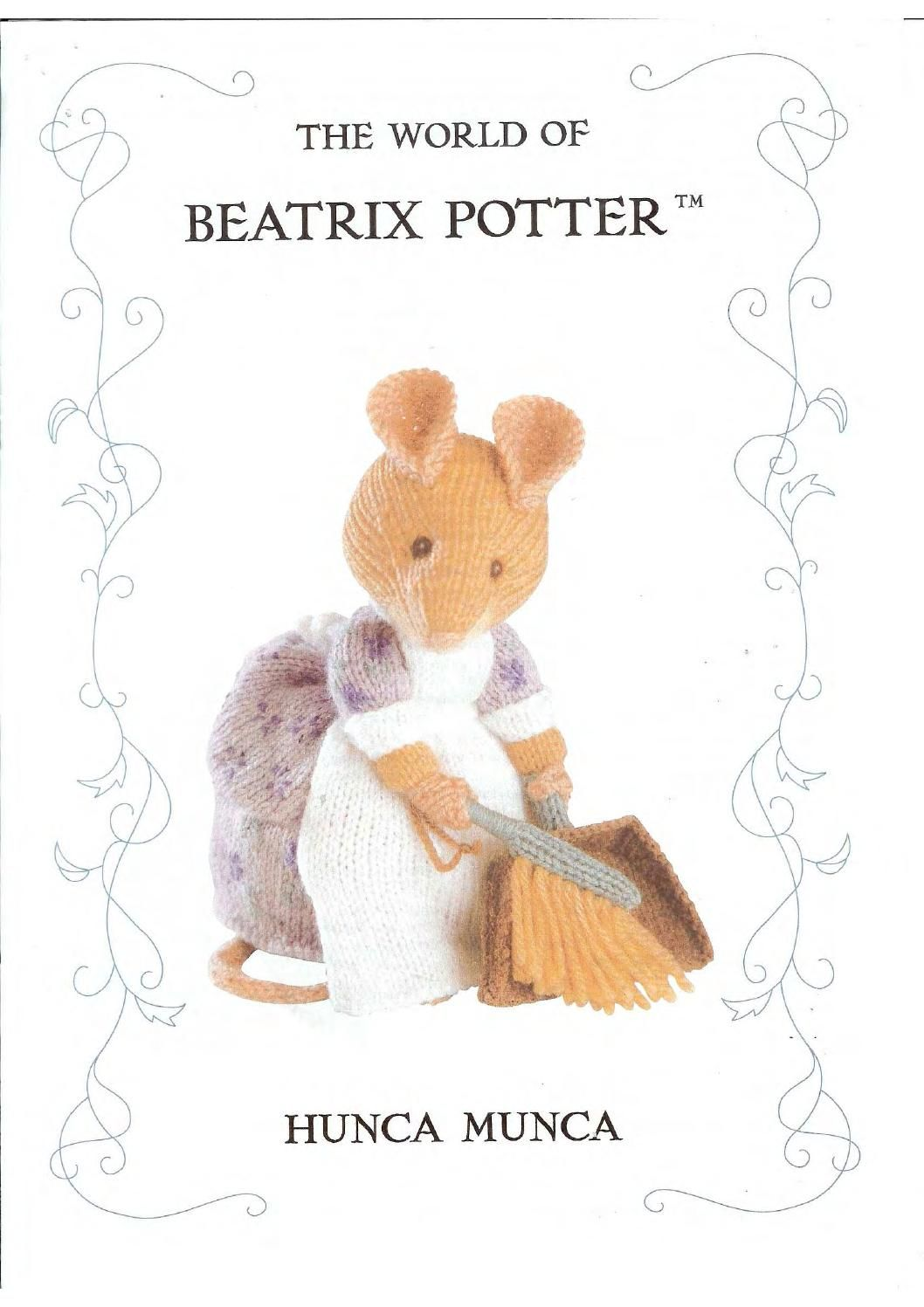Knit the world of beatrix potter hunca munca by FREE Magazine Inside ...