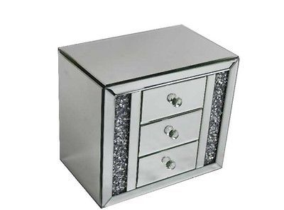 large white jewelry box Jewelry cabinet
