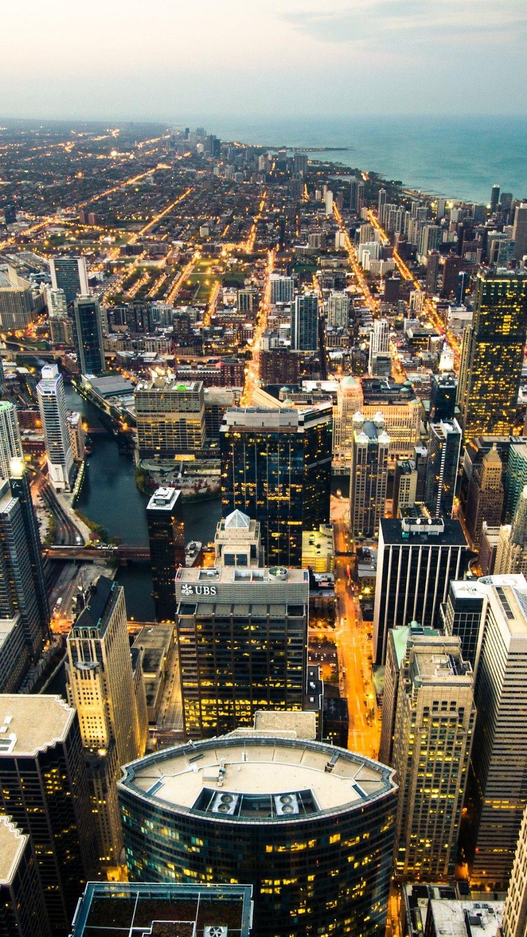 Chicago Iphone Wallpaper Cidade Fotos