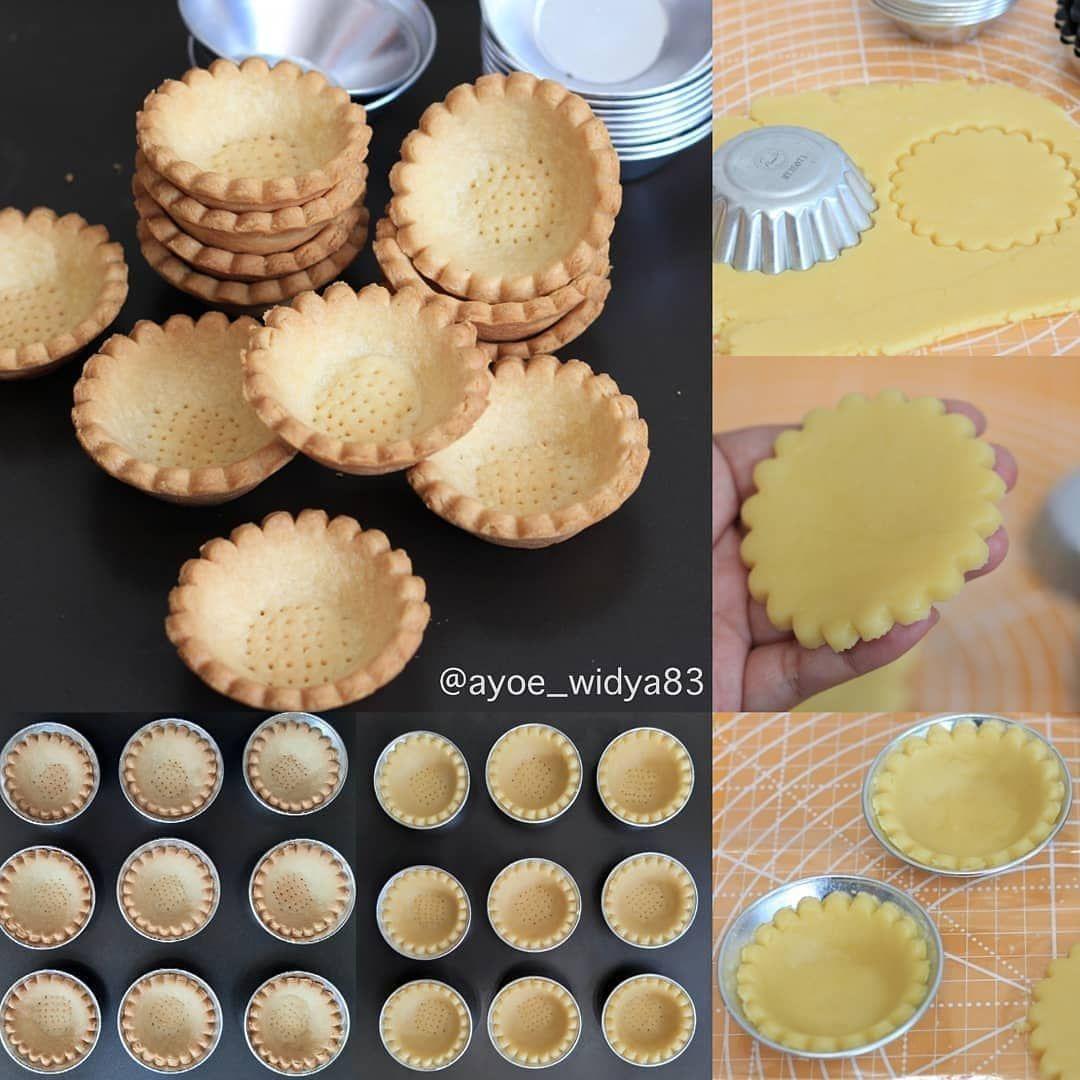 Kue Kering Enak Kekinian On Instagram Lanjutan Resep Pie Crust Untuk Character Cheese Tart Bahan Pie Crust Source Hidayat Pastry Desserts Food