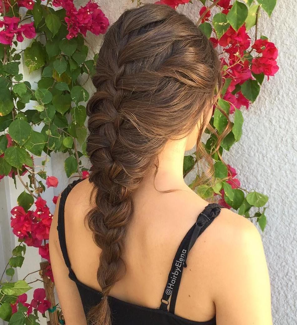 35 Most Alluring Hairstyles for Frizzy Hair #loosebraids