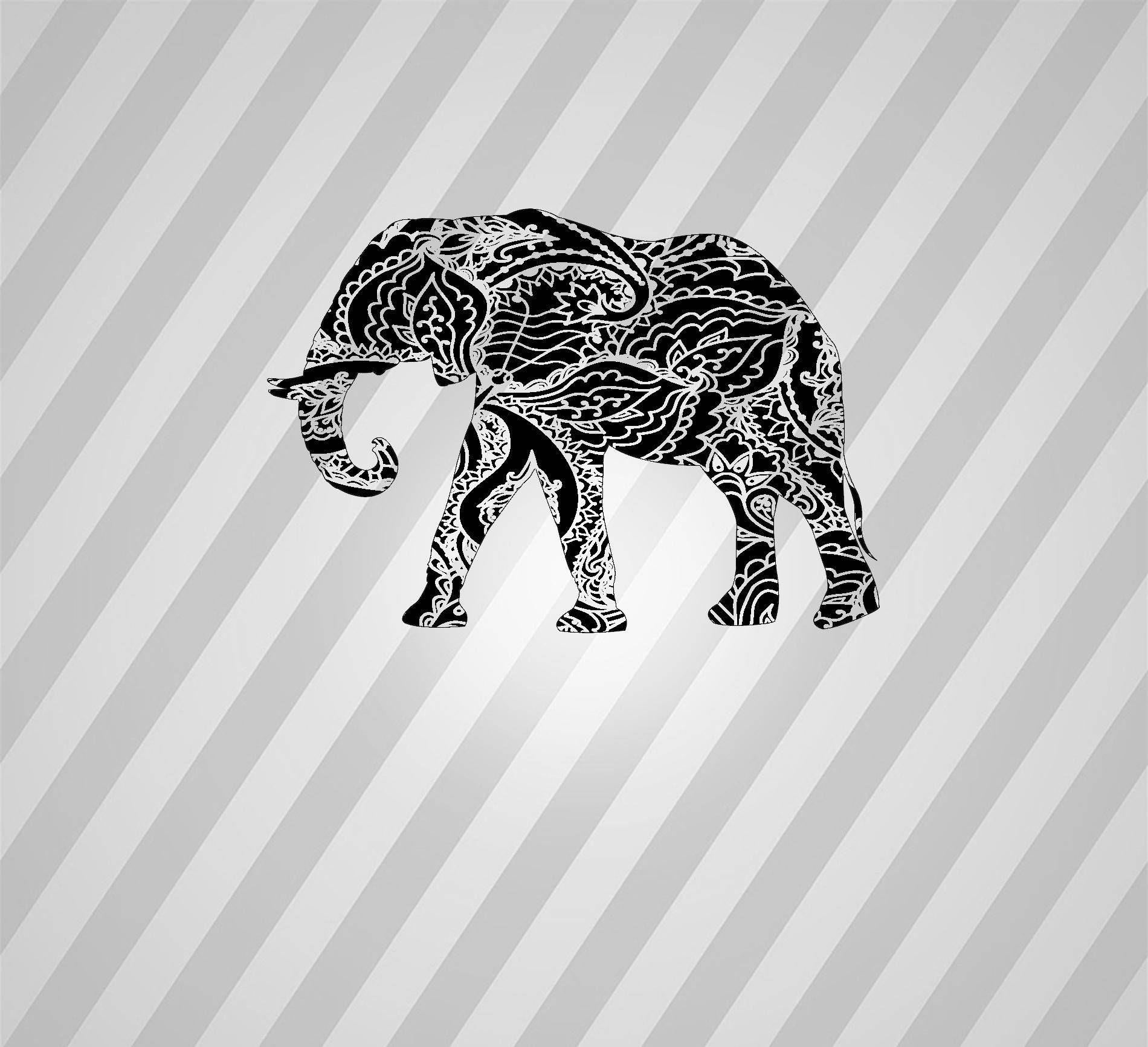 Elephant Papercut Template Elephants - Svg Paper Cut Templates ...