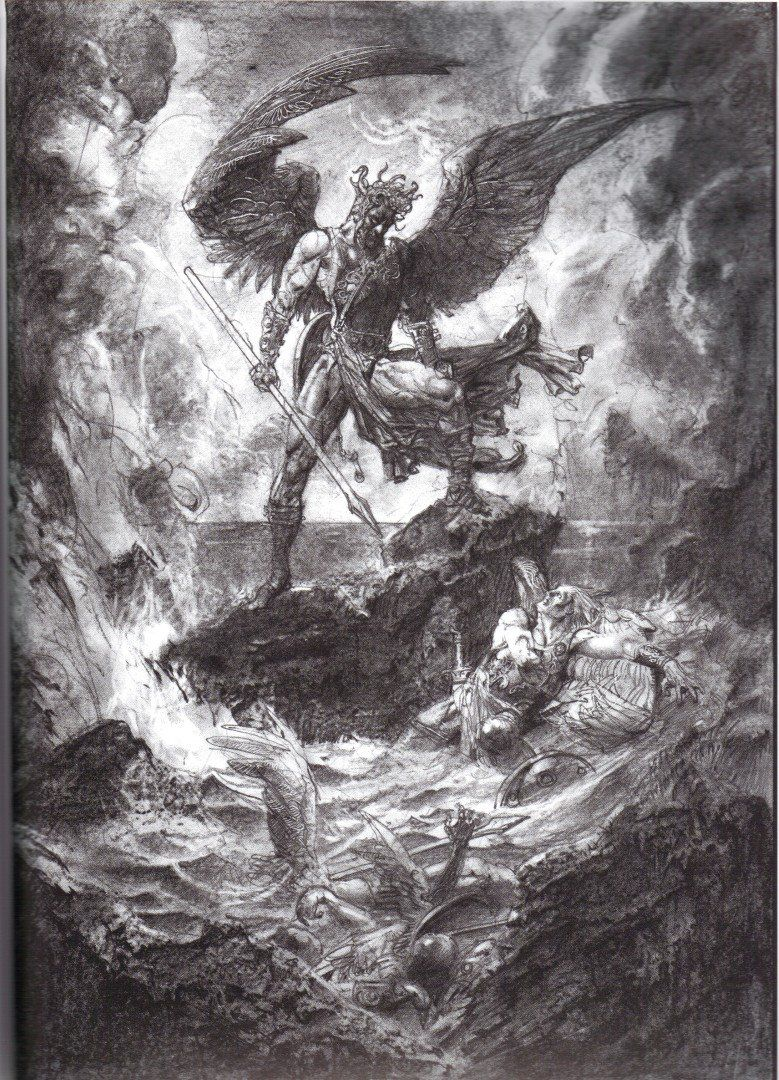 The ideas from paradise lost satans image