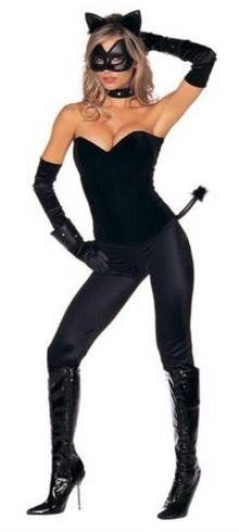 Cat Halloween Costumes for Women - Meow!  sc 1 st  Pinterest & Cat Halloween Costumes for Women - Meow! | Halloween Costumes ...