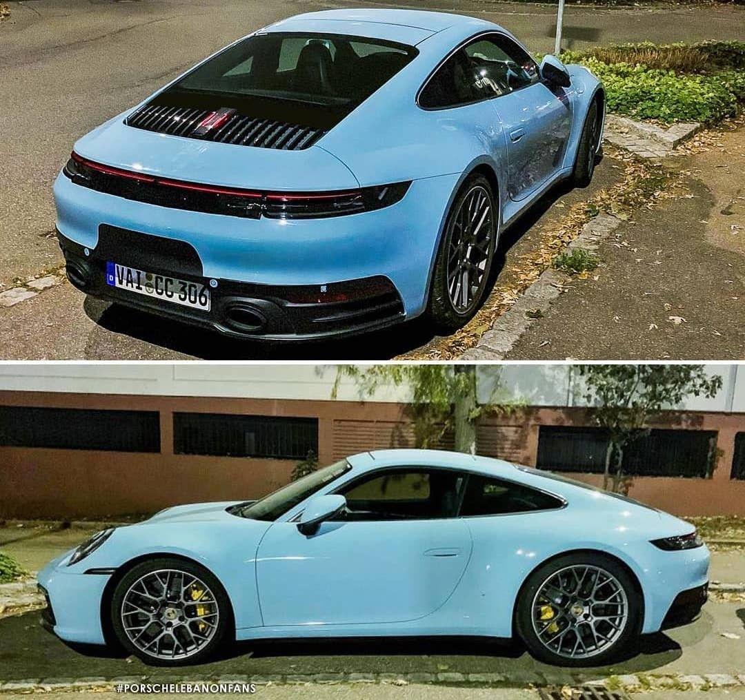 Baby Blue Porsche Porsche Sports Cars Luxury Porsche Cars