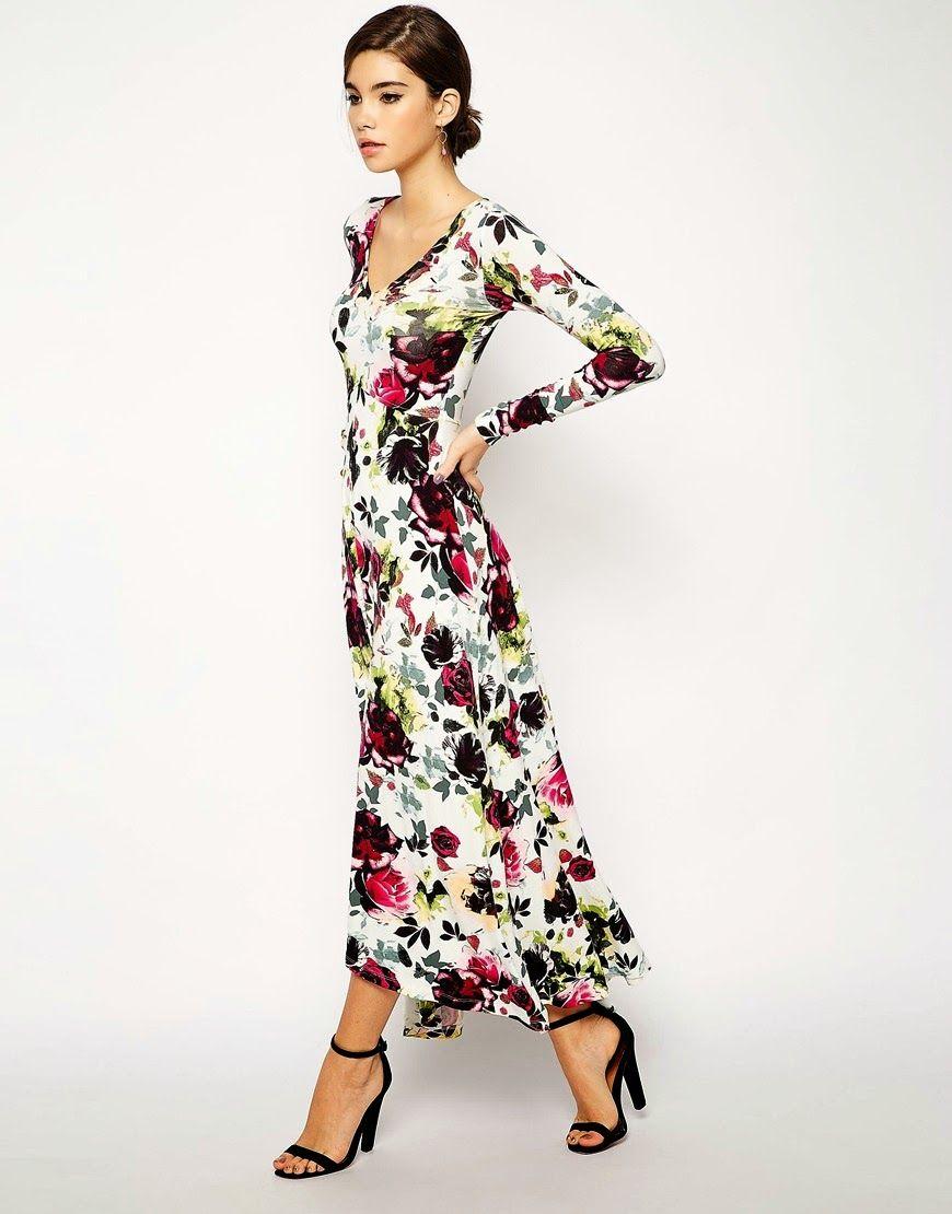 Floral Maxi Dress Finds  Maxi dress, Maxi dress with sleeves