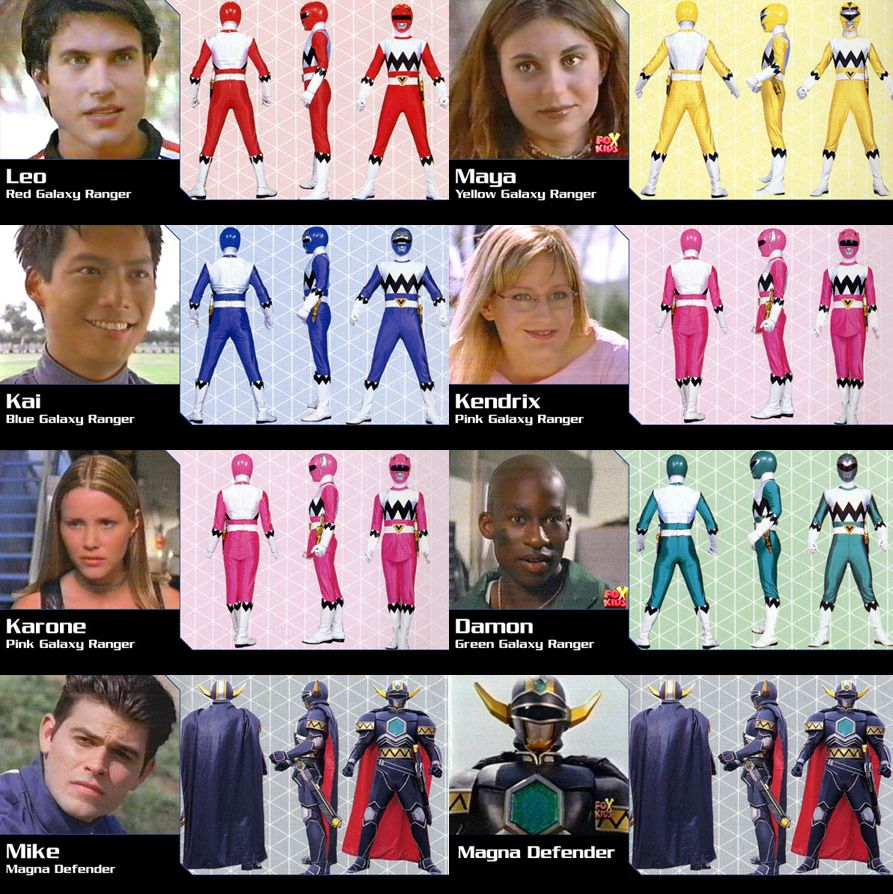 Power Rangers Lost Galaxy … | timothy moore | Pinterest ...