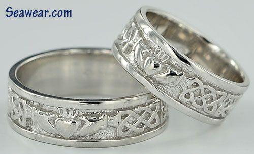 Claddagh Wedding Rings Claddagh Ring Wedding Wedding Rings Wedding Ring Bands Set