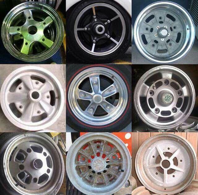 Vw Bug Air Cooled Wheels: 17quot Raw Dsr Aircooled VW Bug Wheels T Vw Beetles