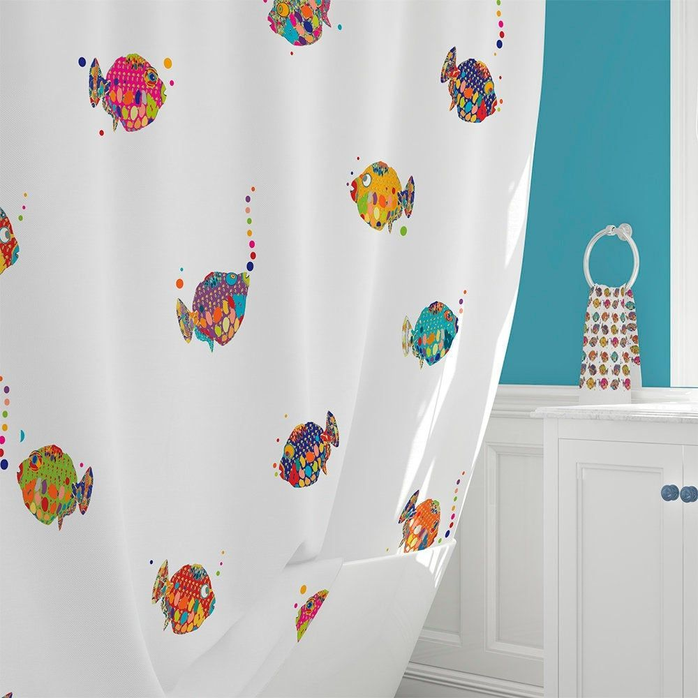 Kids Shower Curtain Colorful Shower Curtains Extra Long Shower