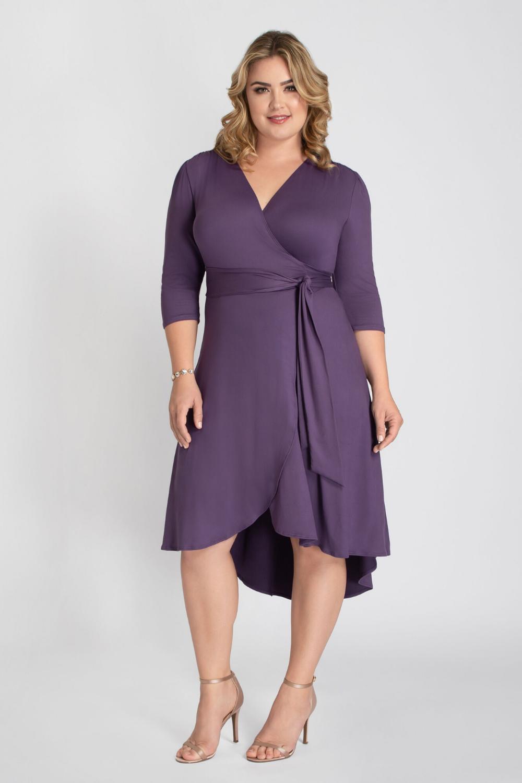 19++ Plus wrap dress info