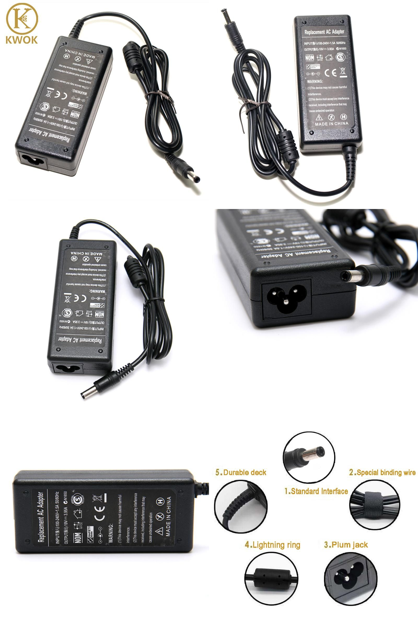 Visit To Buy 19v 3 95a 75w Ac Adapter Power Supply