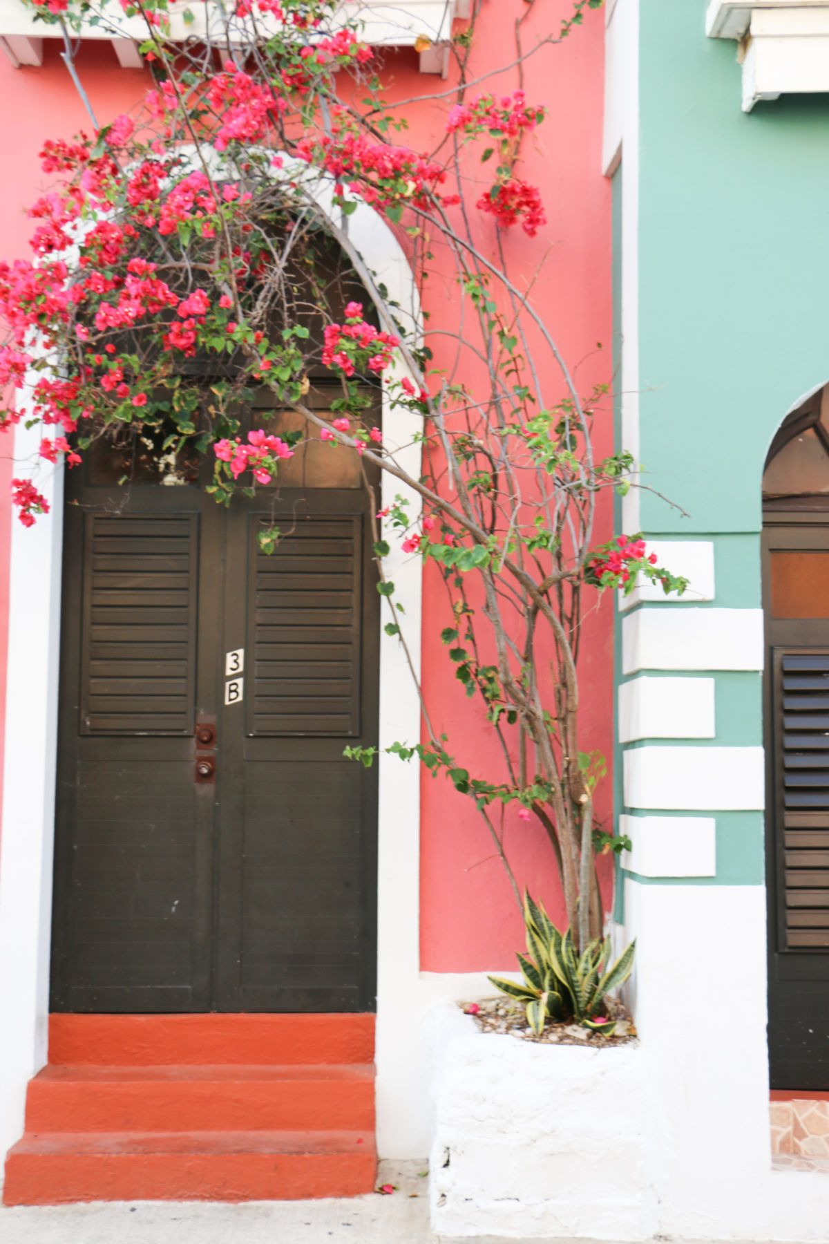 Old San Juan doors \u00a9WCaro Puerto Rico art Casitas 11x14\u201d original oil painting on linen canvas old world facades