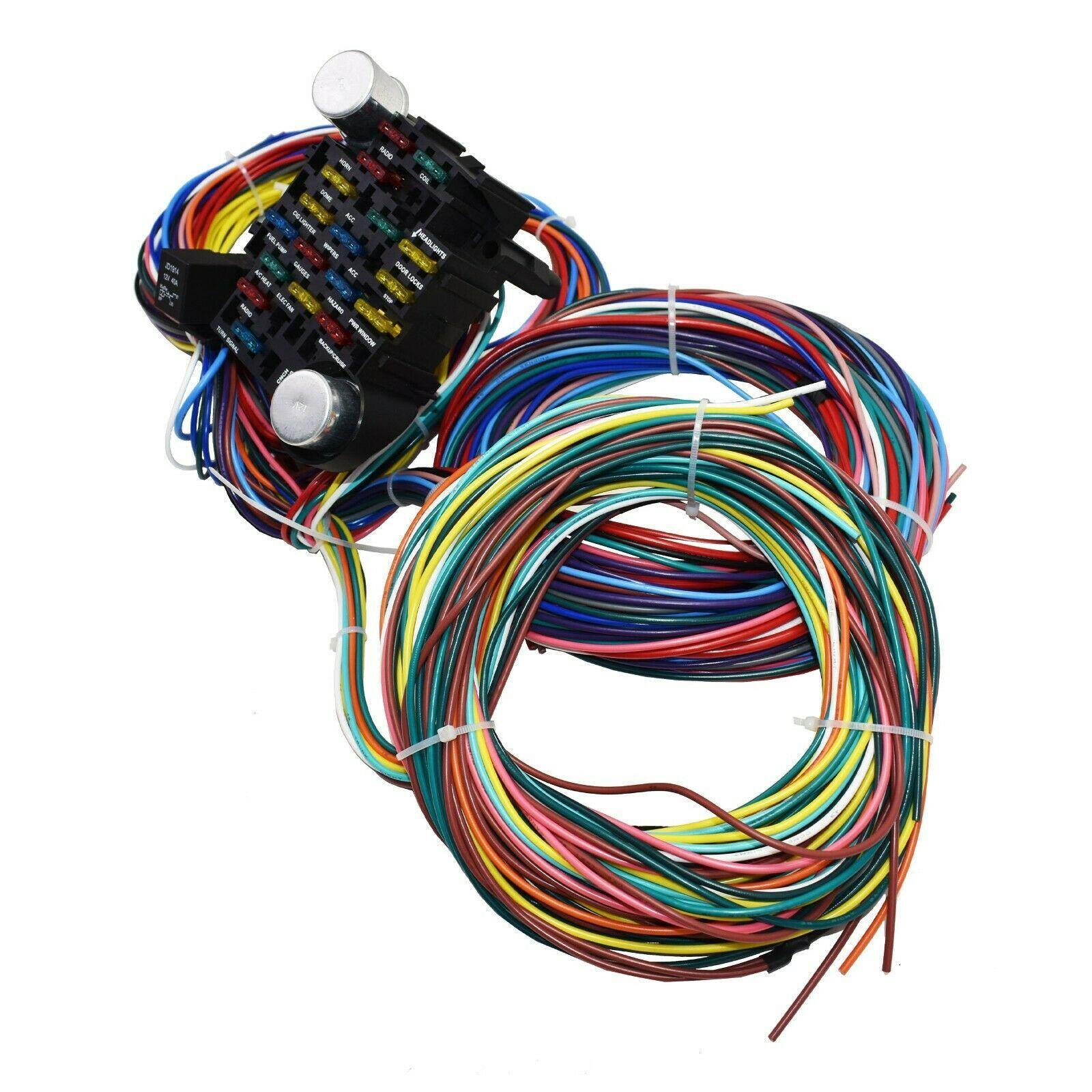 Shop Ford Truck Wiring Harness 53 56 Street Rod Pickup Universal Wire Kit F100 F1 Truegether In 2021 Rod Machine Shop Rat Rod