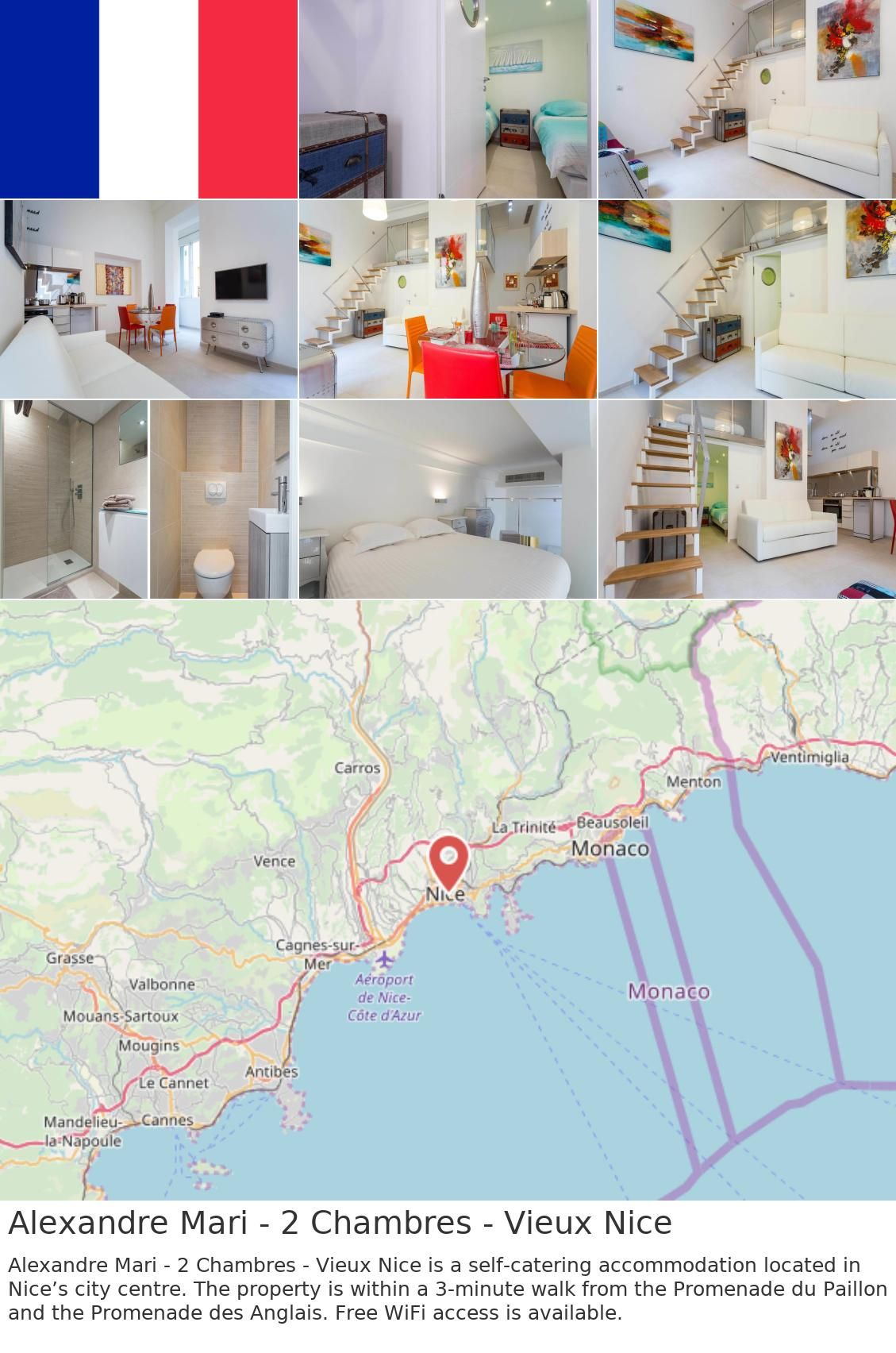 Location Chambre Nice Alexandre Mari 2 Chambres Vieux Nice In 2019 France France
