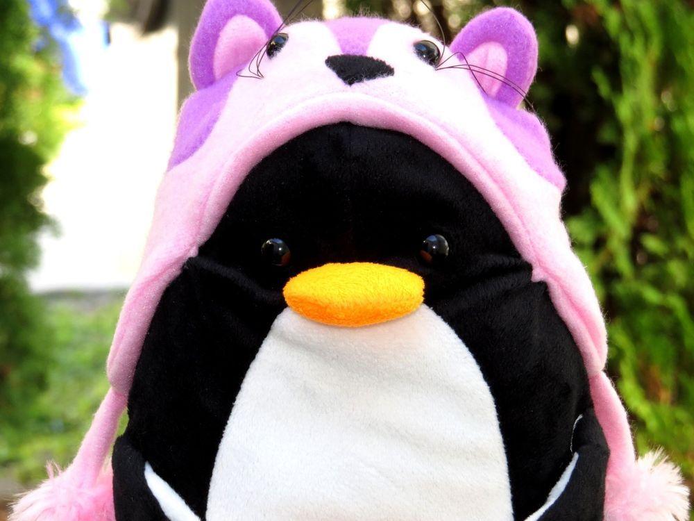 Penguins plush sex