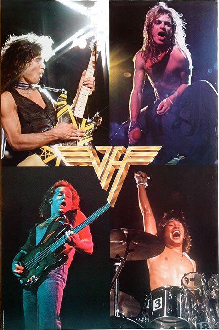 Van Halen This Poster Hung In My Teenage Bedroom As I Dreamt Of Rock Stardom Van Halen Eddie Van Halen Alex Van Halen