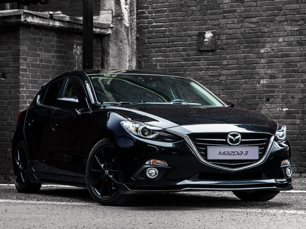 """Mazda3 """"Black Limited"""" (BM) '2015 Mazda 3 sedan, Mazda 3"""