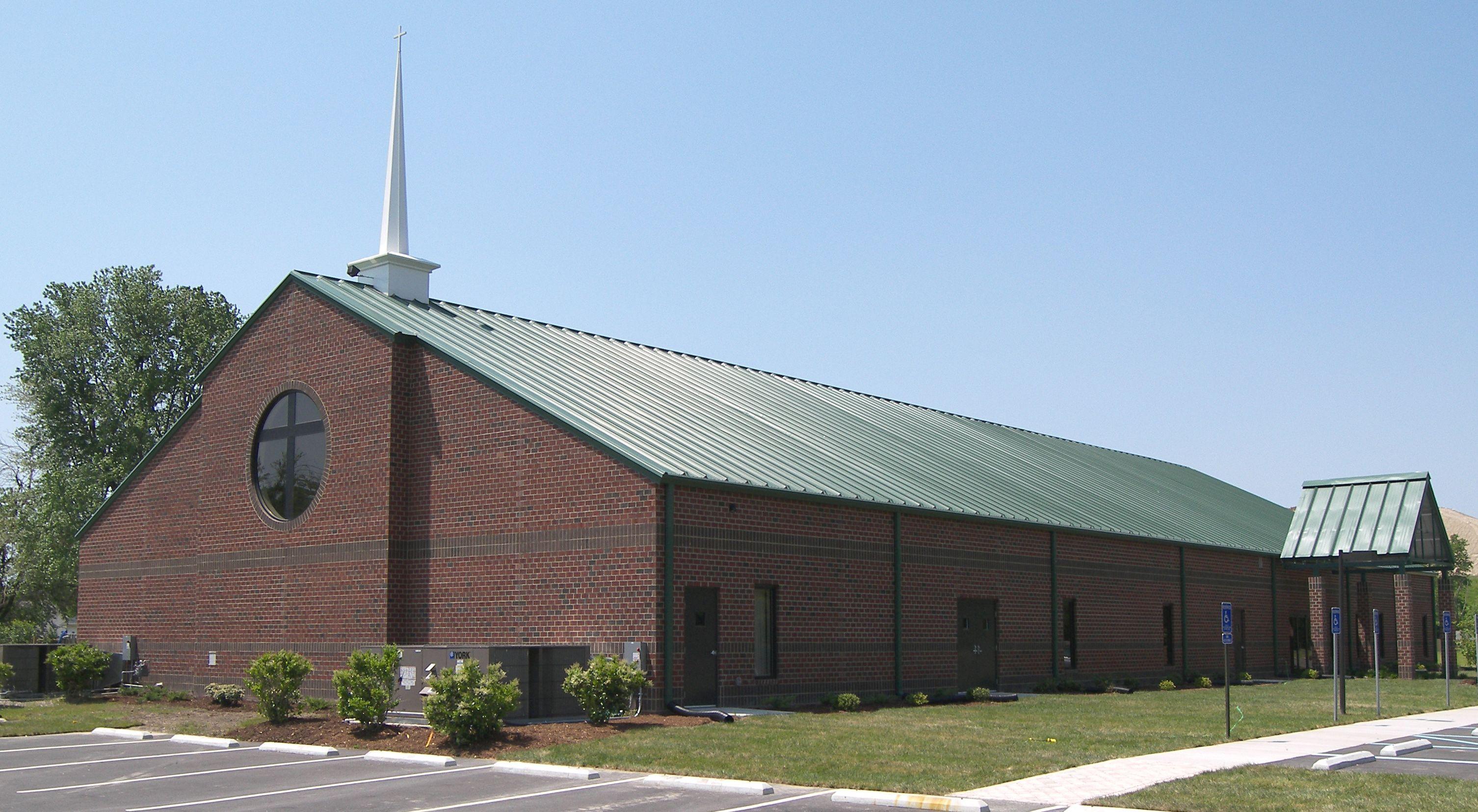 New Hope Baptist Church Exterior Churches Newport News
