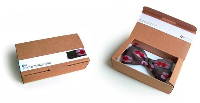 Amazing Bow Tie Cool Packaging Packaging Ideas Pinterest