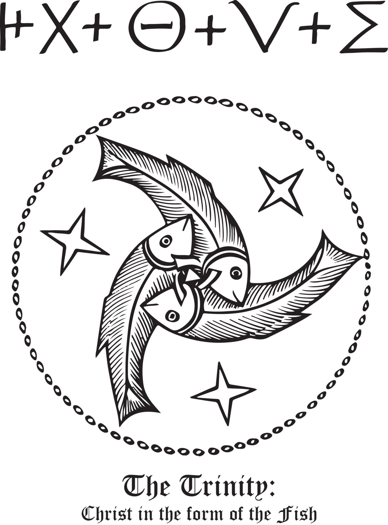 Rudolf koch christian symbol 142 the fish symbols and christian show your support for your faith with rudolf kochs christian symbols these biocorpaavc Gallery