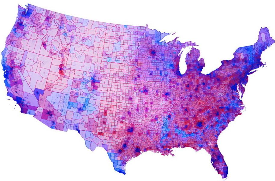 2012 Electoral Map Obama Won States Lost Counties In Election The