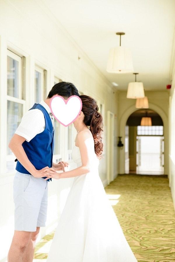 オアフ島 ザ モアナチャペル で結婚式を挙げました 阪急交通社 ブライダルコンシェルジュ 式語 ウェディングドレス ブライダル 海外挙式