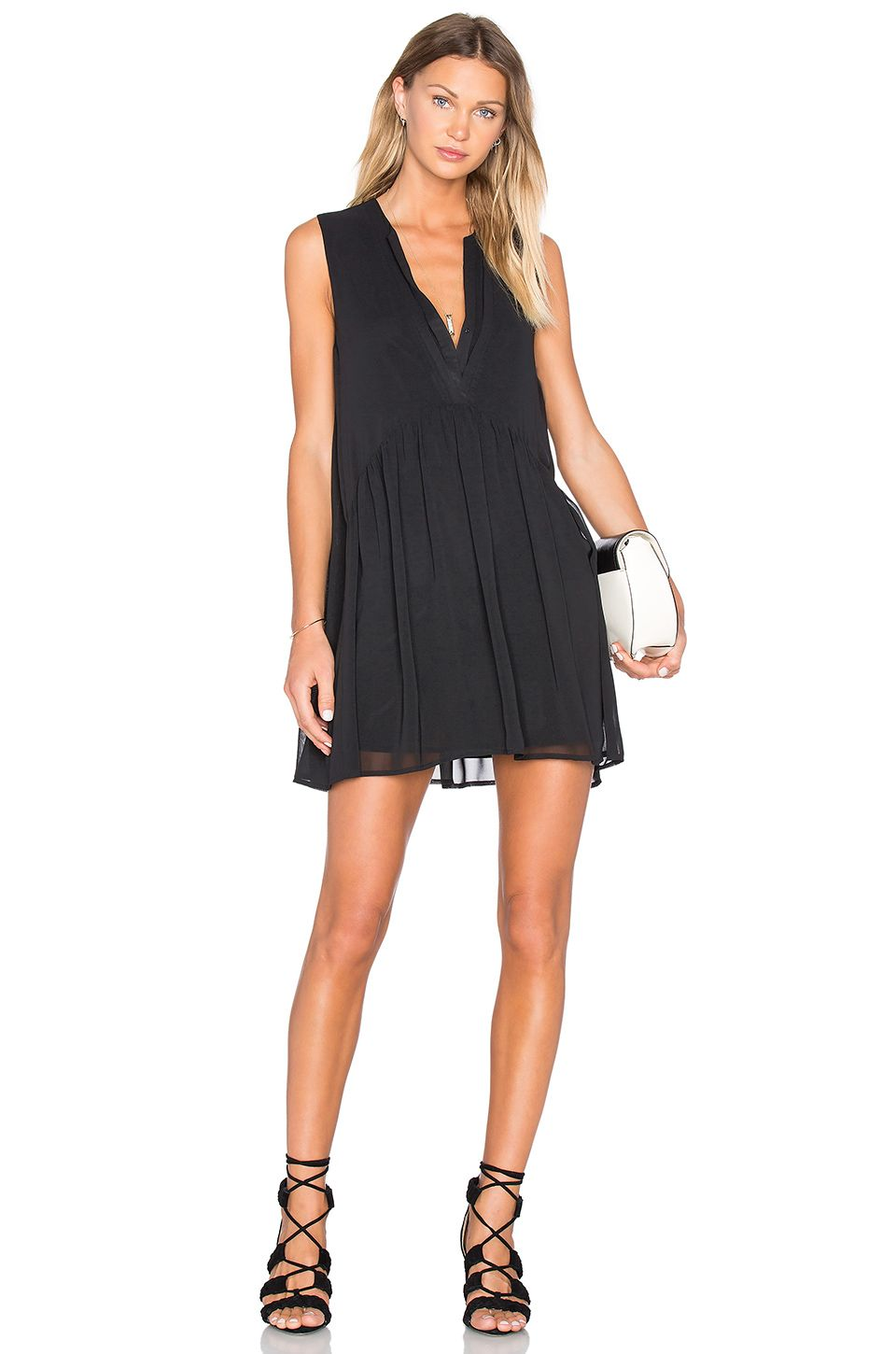 cupcakes and cashmere Gail Dress in Black