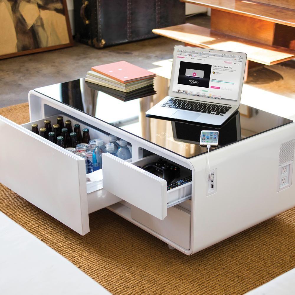 Sobro Coffee Table Coffee Table With Fridge Coffee Table Design Coffee Table With Storage [ 1000 x 1000 Pixel ]