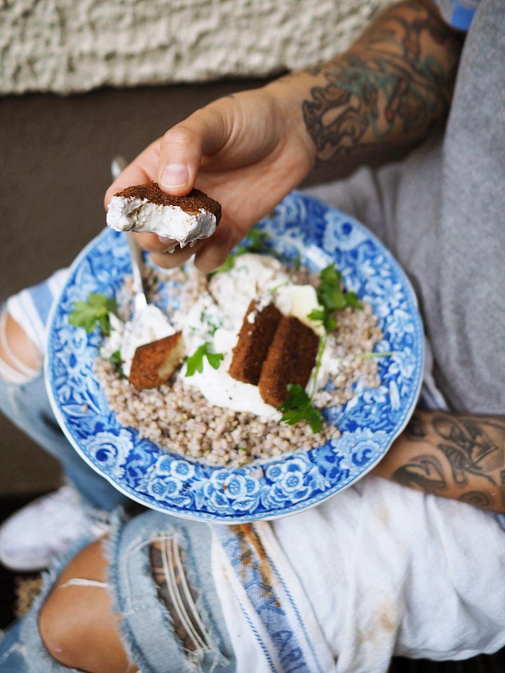 Halparuokakirjasta: tattaria ja tofua