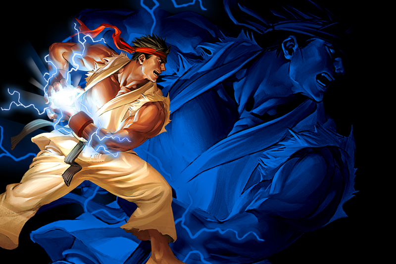 Ryu Wallpaper Ryu Fireball Wallpaper By Natedone On Deviantart