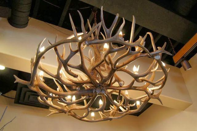 Inspiring jason miller antler chandelier home pinterest inspiring jason miller antler chandelier mozeypictures Image collections